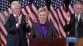 Hillary Clinton FULL Concession Speech (C-SPAN)
