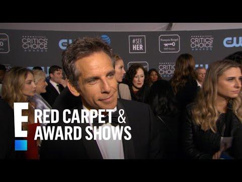 Ben Stillers Golden Globe Awards Date Was His Daughter  E Red Carpet & Award Shows