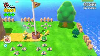 Super Mario 3D World - Crashing the Game (with 1 player)