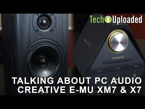 Talking PC Audio - Creative E-MU XM7 & X7 vs Audioengine A5+ & D1