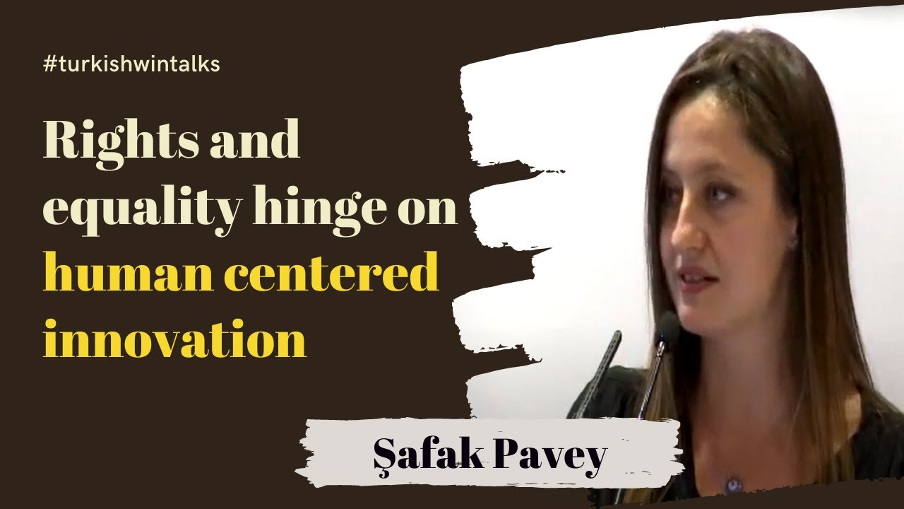 Şafak Pavey | Rights and equality hinge on human-centered innovation