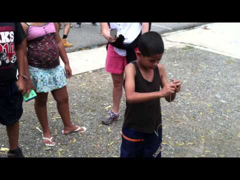 Domincan Republic (boy playing with top)