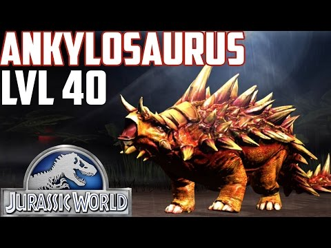 Jurassic World The Game - Ankylosaurus - Level 40