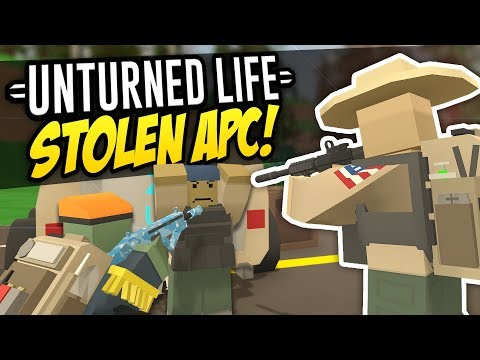 STOLEN APC - Unturned Life Roleplay #314