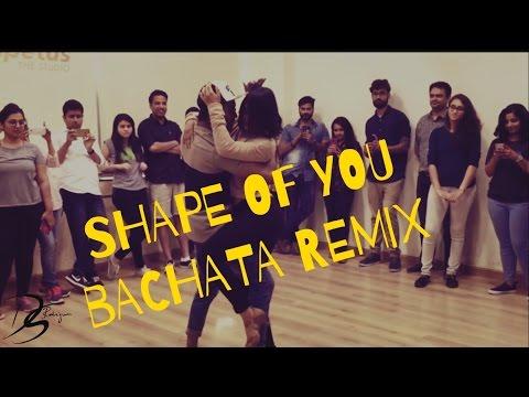 Shape Of You | Cornel and Rithika | Bachata Sensual | Ed Sheeran | Dimaf remix