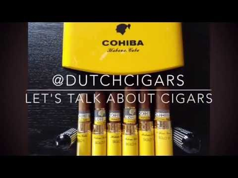 """Review of the special Cohiba Siglo """"travel"""" humidor."""