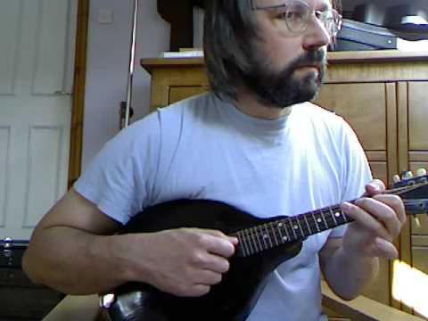 The Trumpet Hornpipe (Captain Pugwash theme) on mandolin