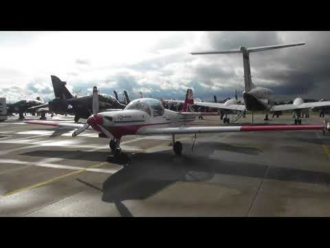 aviation  Scampton Airshow 2017 Slingsby Firefly Static display  9sep17 437p