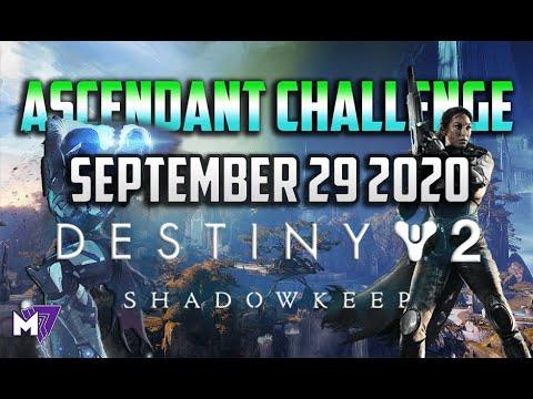 Ascendant Challenge September 29 2020 Solo Guide | Destiny 2 | Corrupted Eggs & Lore Locations |