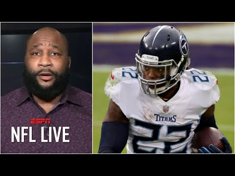 Marcus Spears wishes the Colts good luck vs. Derrick Henry & the Titans   NFL Live