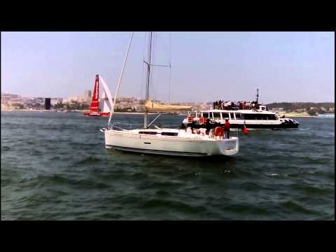 Volvo Ocean Race - Lisbon In-Port Race - Regatta 2015-06-06 mov