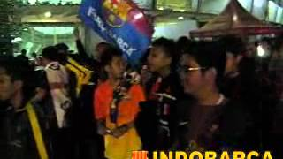 Indonesia Barcelona Fans Club di GBK (Indonesia vs Valencia) 2012