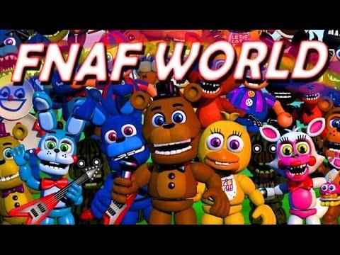 FNAF World DEMO