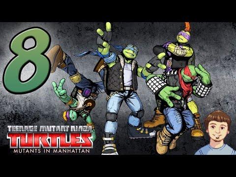 Teenage Mutant Ninja Turtles: Mutants In Manhattan - PART 8 - Rock N Roll Skins (DLC Pack)