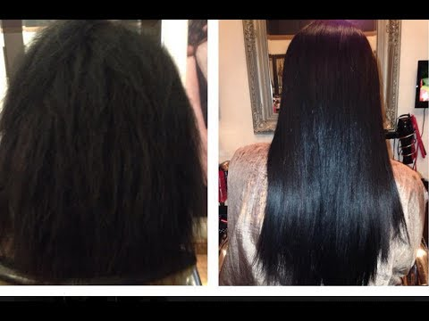 Brazilian Blow Dry Before and After - YouTube