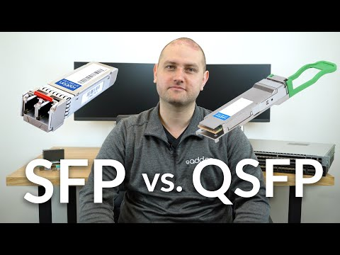 SFP vs. QSFP Transceivers: What is the Difference?
