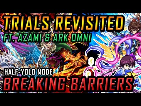 TRIALS REVISITED! Breaking Barrier! YOLO EASY MODE with Azami & Ark