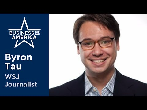 WSJ's Byron Tau on DC's increased scrutiny of Silicon Valley • Business for America