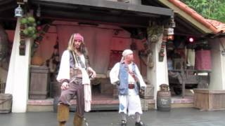 Jack Sparrow Sings yo Ho Yo Ho a Pirates life for Me