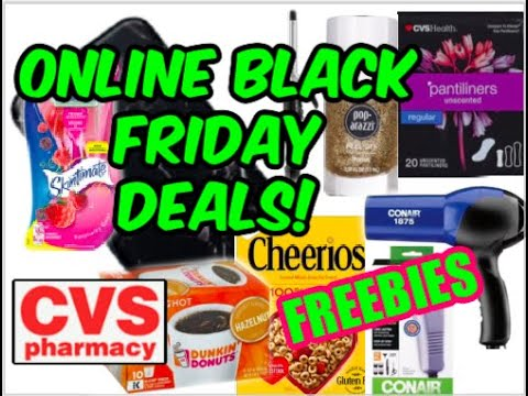 ONLINE CVS BLACK FRIDAY 2020 DEALS  (11/26 – 11/28) \ FREEBIES & MORE!