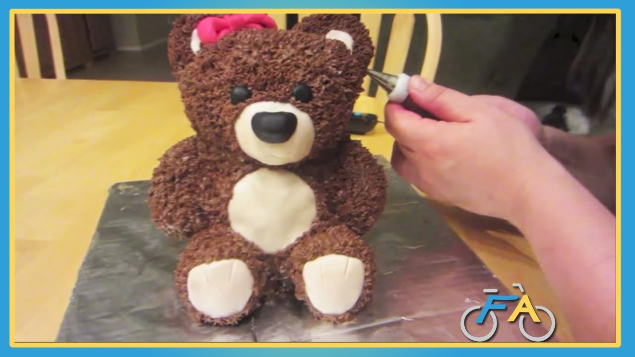 How To Make Teddy Bear Cake Step By Step