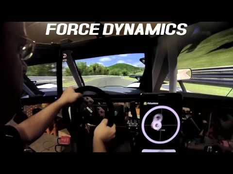 iRacing: Nordschleife and the C7 on the Force Dynamics 401cr racing simulator