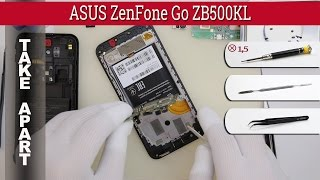 How to disassemble 📱 ASUS ZenFone Go ZB500KL Take apart Tutorial