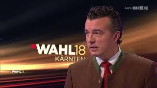 Diskussion der Spitzenkandidaten zur Landtagswahl in Kärnten | ORF2