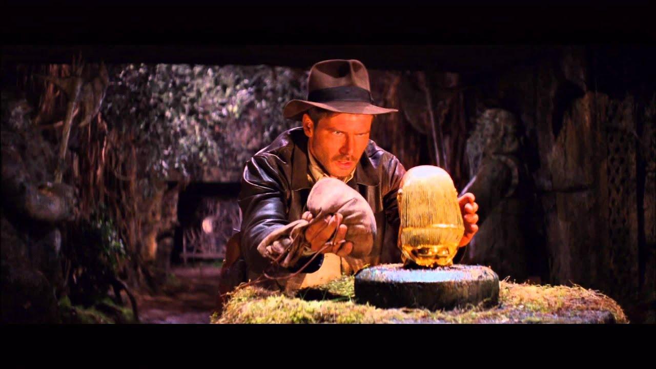 Raiders Of The Lost Ark : Swipe Idol Scene - YouTube