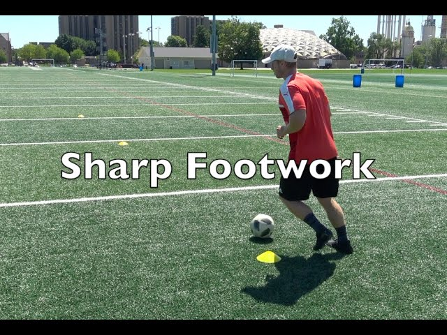 New Instructional Video to Gain Sharp Footwork with the Ball