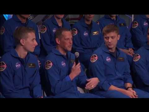 2017 Astronaut Candidate Class News Conference