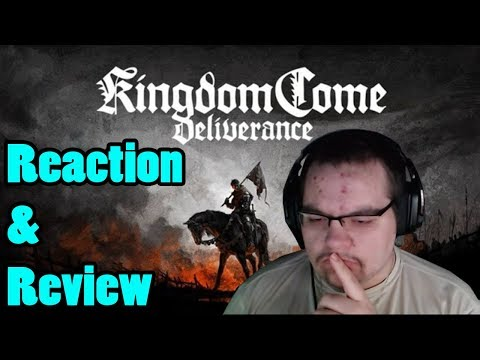 Kingdom Come: Deliverance presents: Tom McKay as Henry | Reaction & Review