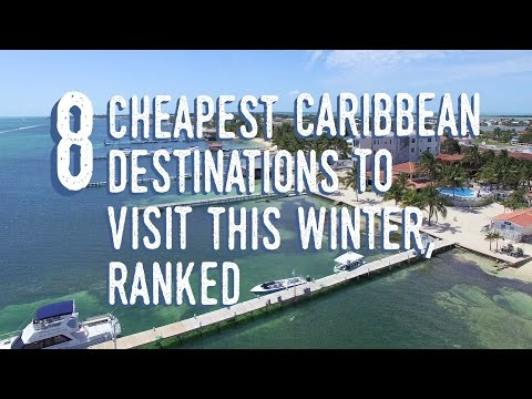 The Cheapest Caribbean Destinations This Winter, Ranked I
