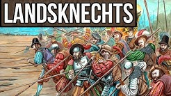 Landsknechts - The Most Sought After Mercenaries in Europe | Late Medieval & Early Modern Warfare