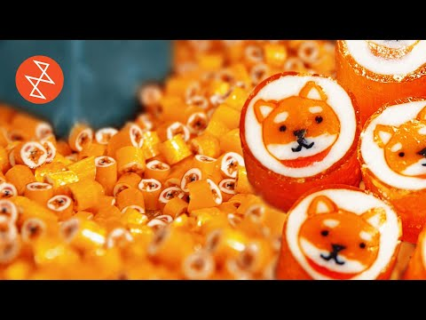 Making an Akita Dog with Handmade Candy | Où se trouve: CandyLabs