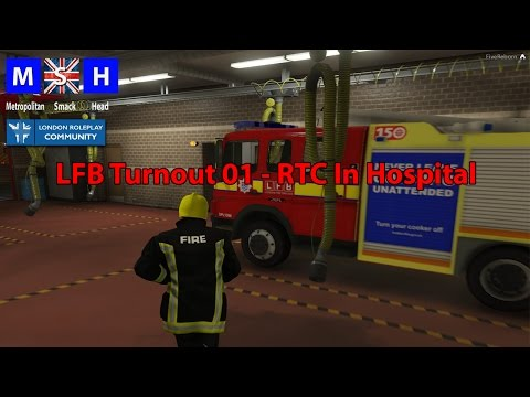 LRPC - LFB Turnout to RTC in Hospital - S1 EP1