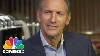 Howard Schultz Reflects On Starbucks Future (Full Interview)   Squawk Box   CNBC