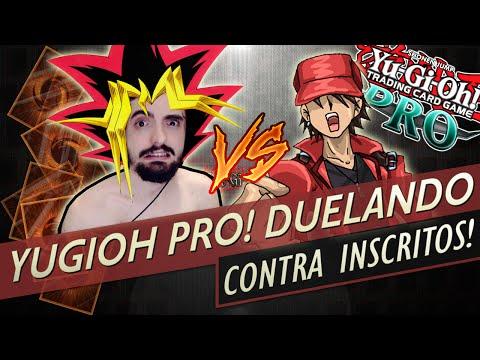 Yugioh PRO (Live!) - DUELANDO CONTRA OS INSCRITOS!