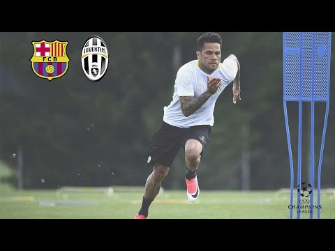 Barcelona vs Juventus: the build-up