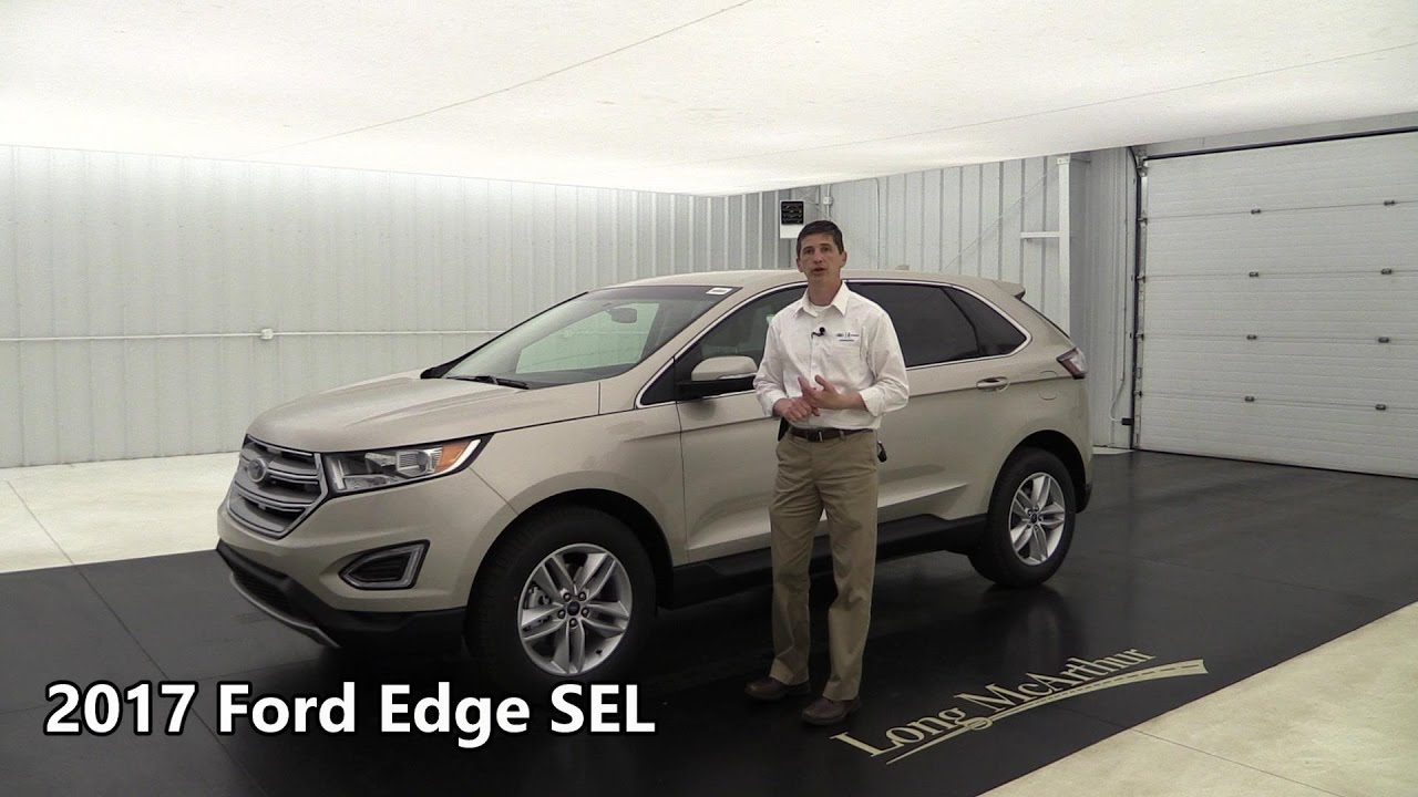2017 Ford Edge Sel Standard Optional Equipment