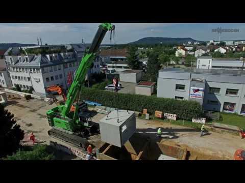 SENNEBOGEN 6113 E Telescopic Crane - Special Purpose Civil Engineering for Canalization - Germany