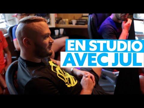 En studio avec JUL à Marseille