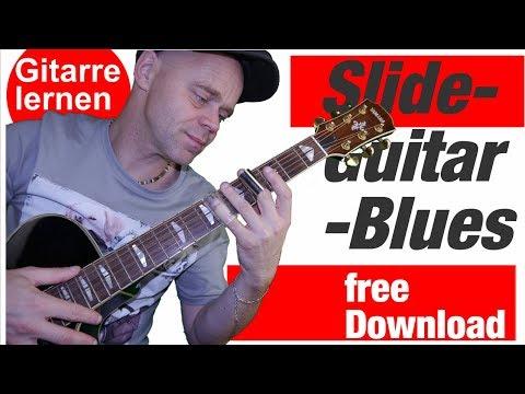 Slide guitar lesson Blues