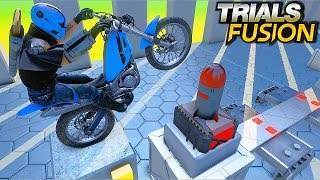 TRIALS FUSION - Custom Ninja Tracks #15 (Ninja level 5 & 4)