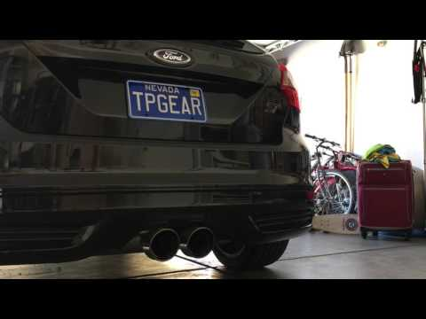 Ford Racing Exhaust on a Focus ST