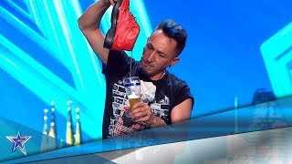 ¡ALUCINANTE! Este MAGO saca CERVEZA de su BOLSA MÁGICA | Audiciones 7 | Got Talent España 5 (2019)
