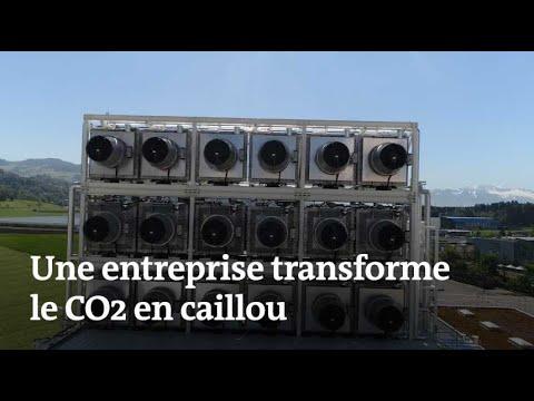 Transformer le CO2 en caillou pour réduire le réchauffement