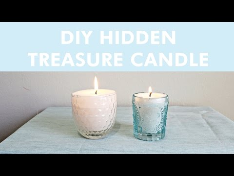 DIY Hidden Treasure Candles | LDP