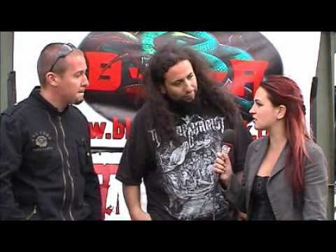 Infernal Tenebra interview @Bloodstock 2012 with TeePee (TotalRock)