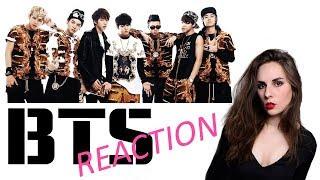 FIRST REACTION VIDEO! BTS DNA MUSIC VIDEO